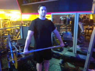 Wide Upright Barbell Rows