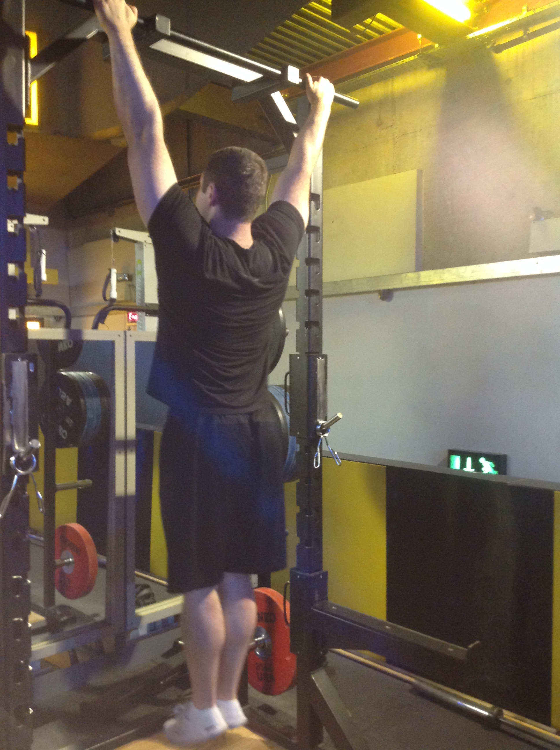 Wide Pull Ups